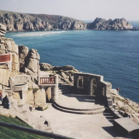 Watch a play at the Minack Theatre Cornwall - Bucket List Ideas