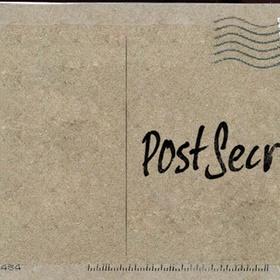 Mail a Secret to Post Secret - Bucket List Ideas