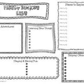 Create a Family Bucket List - Bucket List Ideas
