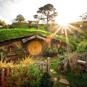 Visit the Hobbit Huts, New Zealand - Bucket List Ideas
