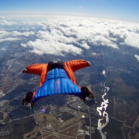 Go Skydiving With A Wingsuit - Bucket List Ideas