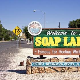Enjoy the Healing Mineral Waters at Soap Lake in Washington - Bucket List Ideas