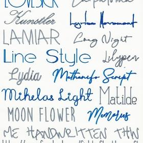 Create a font of my handwriting - Bucket List Ideas