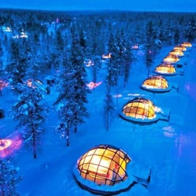 Rent a glass igloo in Finland and watch the Northern Lights - Bucket List Ideas