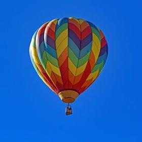 Fly in hot air balloon - Bucket List Ideas