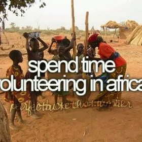 Become a permanent volunteer at a charity - Bucket List Ideas