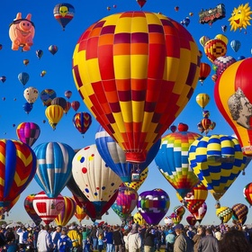 Attend the International Balloon Fiesta - Bucket List Ideas