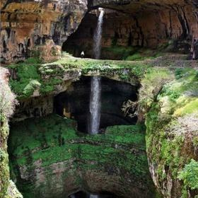 Baatara Gorge Waterfall, Tannourine, Lebanon - Bucket List Ideas