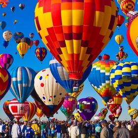 Attend Albuquerque hot air balloon fest - Bucket List Ideas