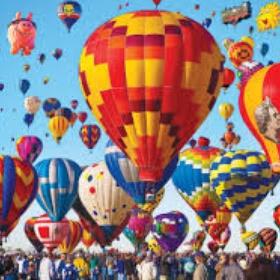 Attend the International Balloon Fiesta in Albuquerque, New Mexico - Bucket List Ideas