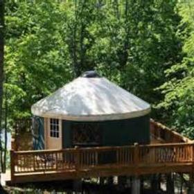 Sleep in a yurt - Bucket List Ideas