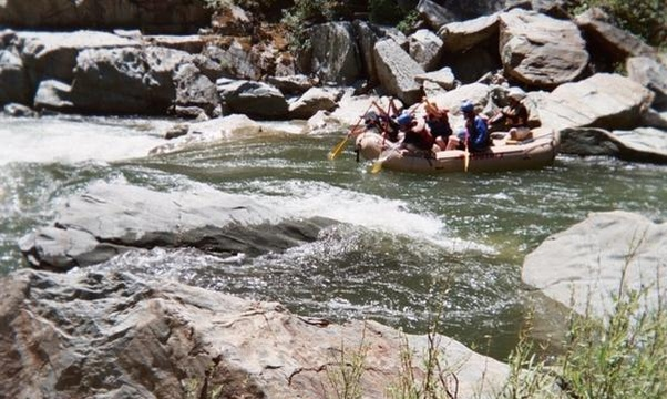 Go white water rafting - Bucket List Ideas