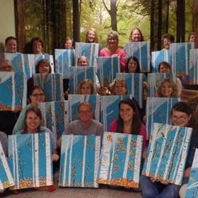 Attend a social paint party - Bucket List Ideas