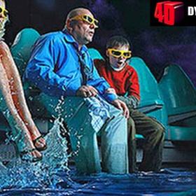Experience a 4DX Movie - Bucket List Ideas