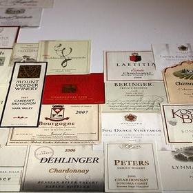 Make a Wine Collage - Bucket List Ideas