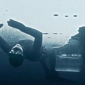 Freediving under the ice - Bucket List Ideas