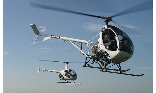 Fly in a helicopter - Bucket List Ideas