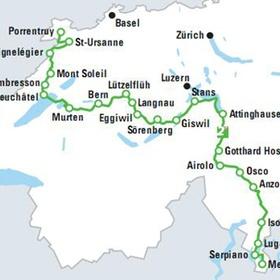 Hike across the Swiss Alps - Bucket List Ideas