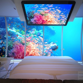 Stay at underwater hotel - Bucket List Ideas