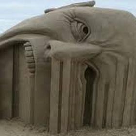 Watch a sand sculpture contest - Bucket List Ideas