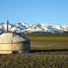 Sleep in a yurt - Bucket List Ideas