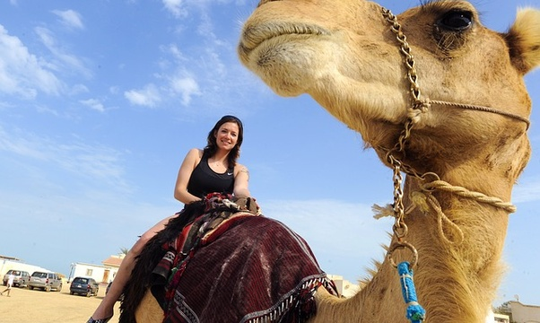 Ride a camel in Egypt - Bucket List Ideas