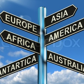 Travel to every continent (excluding antarctica) - Bucket List Ideas