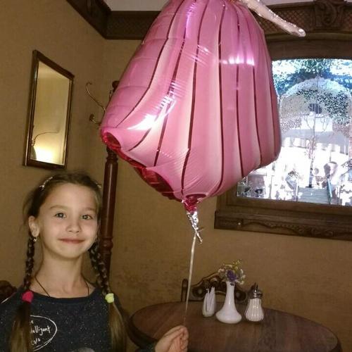 Congratulate my goddaughter for becoming a schoolgirl - Bucket List Ideas