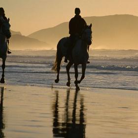 Horseback riding on a beach - Bucket List Ideas