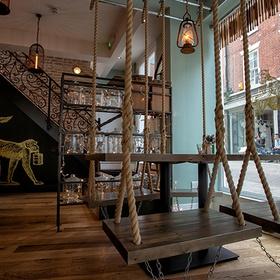Dine on the swings at Mowgli Street Food - Bucket List Ideas