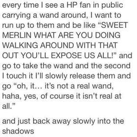 Harry Potter Joke - Bucket List Ideas