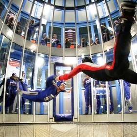 Go Indoor skydiving - Bucket List Ideas