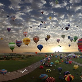 Ride the Hot Air Balloon - Bucket List Ideas
