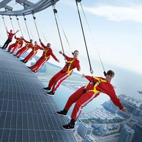 Hang off the seine tower in Canada - Bucket List Ideas