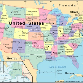 Visit every state in the US - Bucket List Ideas
