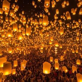 Go to the lantern festival in Taiwan - Bucket List Ideas