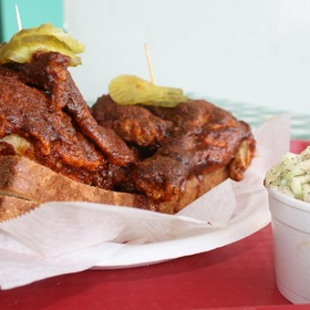 Eat an Iconic State Food - Tennessee (Nashville Hot Chicken Sandwich) - Bucket List Ideas
