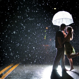Dance in the rain with someone special - Bucket List Ideas