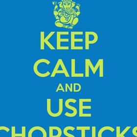 Learn how to use chopsticks - Bucket List Ideas