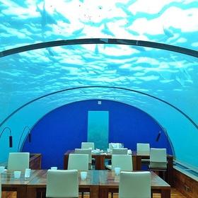 Eat in the underwater restaurant in the Maldives - Bucket List Ideas