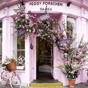 Have tea and cake at Peggy Porschen - Bucket List Ideas