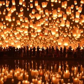 Go to A Light or Latern Festival - Bucket List Ideas
