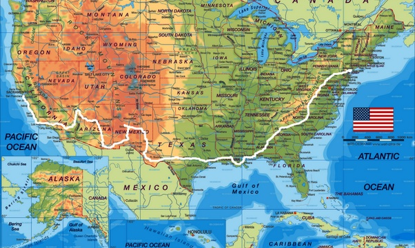 Road trip across America - Bucket List Ideas