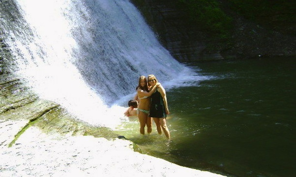 Swim in a Waterfall - Bucket List Ideas