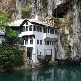 Visit Blagaj Tekija in Bosnia and Herzegovina - Bucket List Ideas