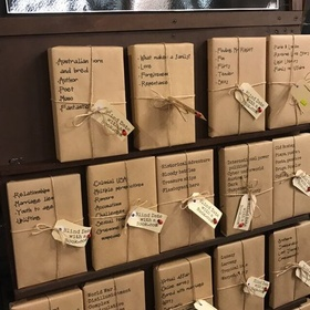 Have a blind date with a book - Bucket List Ideas