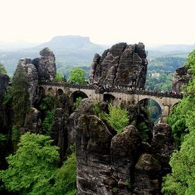 Visit the bastei bridge in the elbe sandstone mountains, germany - Bucket List Ideas