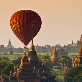 Air Balloon over Myanmar - Bucket List Ideas