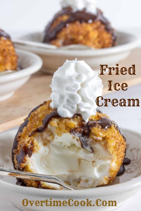 Taste fried ice cream - Bucket List Ideas