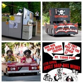 Participate in a soapbox derby - Bucket List Ideas